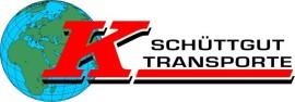 Logo Schüttgut Transporte Krisper mit Weltkugel